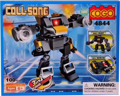 Mera Toy Shop Robot Construction Set -4844