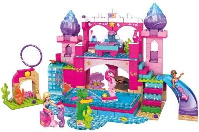 Mega Bloks Mega Bloks Barbie Underwater Castle Playset