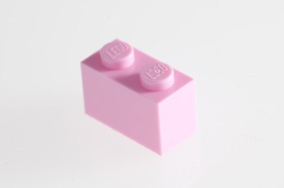 Factory Fresh Bulk Bricks 200X Lego Light Pink 1X2 Bricks Super Pack