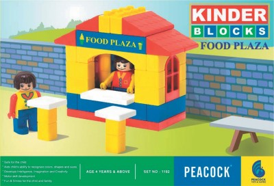 Peacock Food Plaza(Multicolor)
