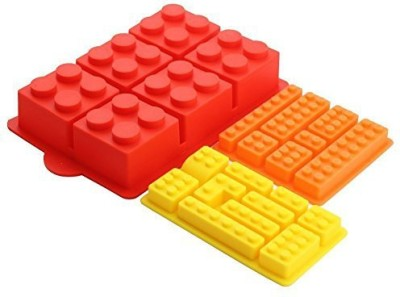 Sago Brothers Building Bricks Silicone Mold In Three Different Sizes