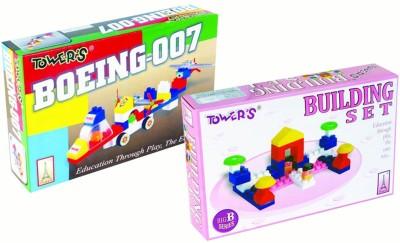 Towers Boeing-007 & Building Blocks Combo