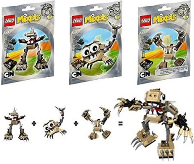 Lego Mixels Series 3 Bundle Set Of Spikelsfooti