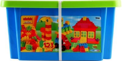 Ecoiffier Abrick Bricks in Storage Box Playset