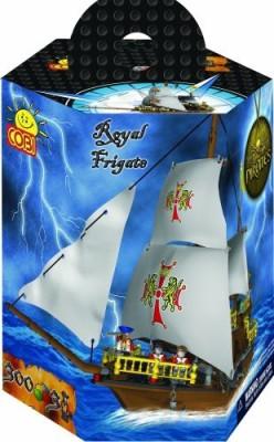 COBI Pirates Royal Frigate300 Piece Set