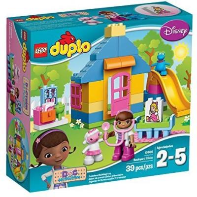 Lego DUPLO Brand Disney 10606 Doc McStuffins Backyard Clinic Building Kit