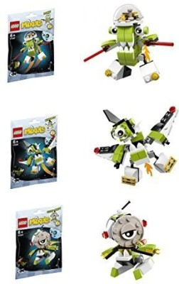 Lego Mixels Series 4 Bundle Set of Orbitons, Rokit (41527), Niksput (41528), Nurp-Naut (41529)
