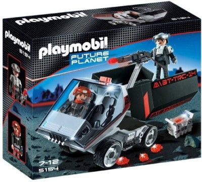 PLAYMOBIL Dark Rangers, Truck With Ir Knockout Cannon