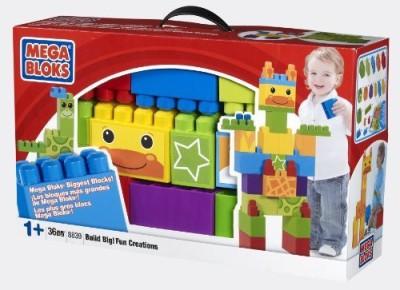 Mega Bloks Build Big Creation Box