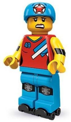 Lego 71000 Series 9 Mini Roller Der Girl