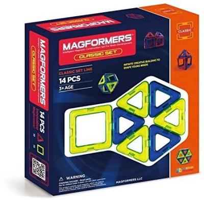 Magformers 14 Piece Classic Colors Set
