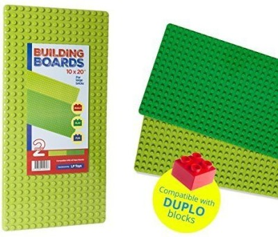 LPTOYS Brick Building Plates By 10