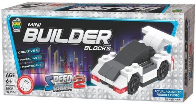 Apple Fun Mini Builder Block - SRCR - 2(Multicolor)