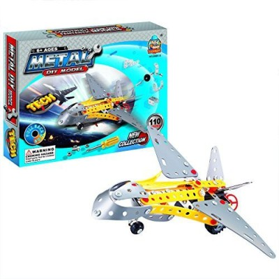 Easy Gift Aircraft Metal Models Kits Construction Set Educational