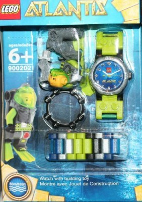 Schylling Lego Atlantis Watch With Mini
