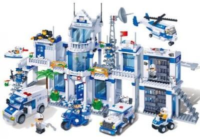 BanBao Big Police Station Building Set