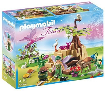 PLAYMOBIL Healing Fairy Elixia In Animal Forest Playset