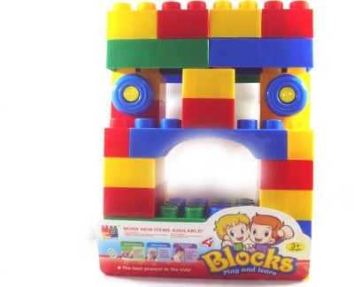 Toyzstation 48Pcs Play n Learn Blocks