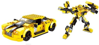 Funblox 2 in 1 Transformer Block Set 244pcs