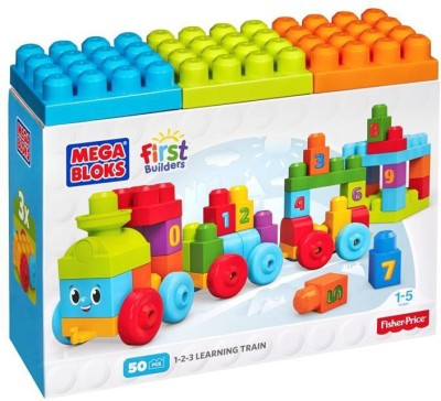 MEGA BLOCKS First Builders 123 Learning Train