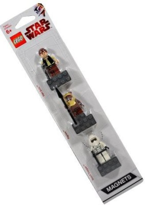 Star Wars Lego Character Mini Magnets Series 3 Pack Set 852845 Han