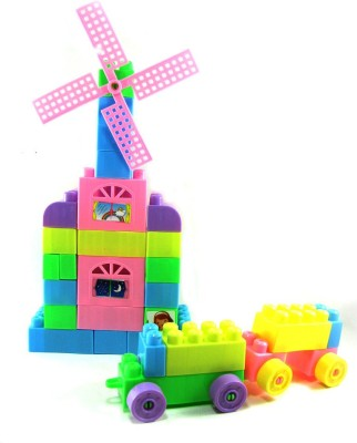Tickles Building Block Bricks