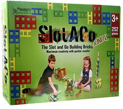 Playlearn USA Slotago Construction Junior 252 Piecesages 4+ The New