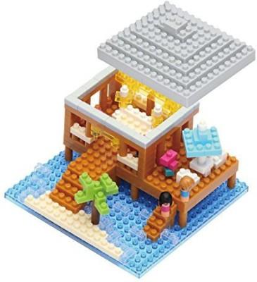 Kawada Nanoid Resort Cottage Nano Building Kit