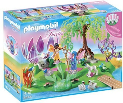 Playmobil Fairy Island with Jewel Fountain Playset