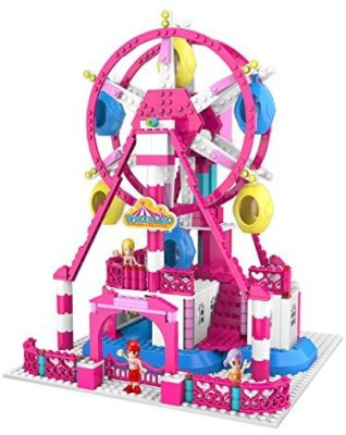 ZTrend Wonderland Deluxe Ferris Wheel Geared Motion Building Set