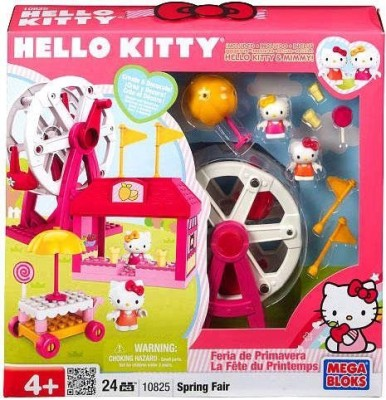Mega Bloks Hello Kitty Set 10825 Spring Fair