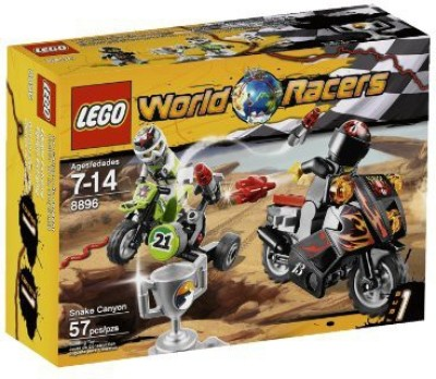 Lego World Racers Snake Canyon 8896