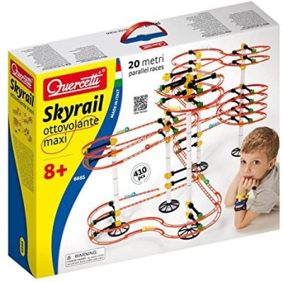 International Playthings Quercetti Skyrail Ottovolante Maxi Playset