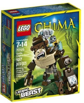 LEGO Chima Legends of Gorilla Legend Beast (70125)