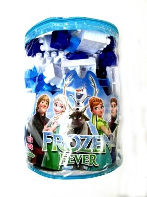 WebKreature Frozen Fever 132 pcs of Building Blocks