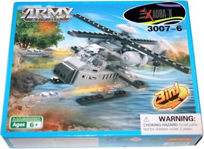 Adraxx DIY Hobby 3D Fighter Airjet Model Assembling Kit