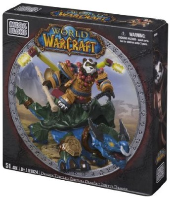 Mega Bloks World Of Warcraft Dragon Turtle And Windpaw