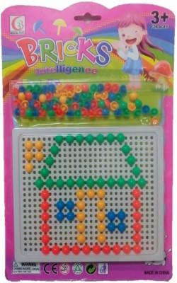 Light Gear 2D Shapes Intelligence Bricks Slate Fun Learning Toy