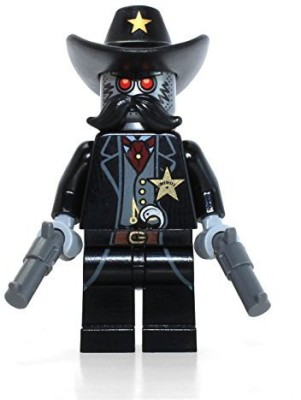 LEGO the Movie Mini Sheriff Not A Robot(Black)