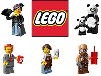 Lego Movie Mini Lot Wildstylelord Businesslarry