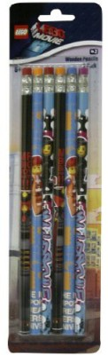 West Designs The Lego Movie 6 Pack Of Wooden Pencils Lgo6716