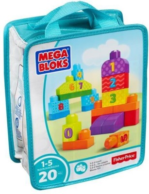 MEGA BLOCKS First Builders 123 Count