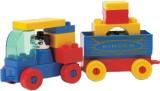 Peacock Kinder Blocks-Car-Tanker and Dum...