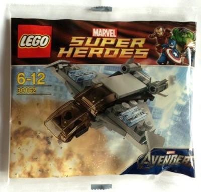 Super-Heroes Lego Marvel Superheroes Quinjet 30162