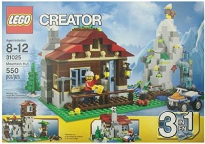 Lego Mountain Hut 31025