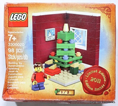 Lego Limited Edition Building 3300020 Christmas Tree 2011