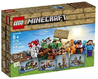Lego Minecraft 21116 Crafting Box(Multicolor)