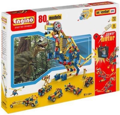 Engino 80 Model Construction Set With Motor