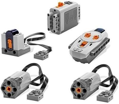 Lego Power Functions Motor Battery IR Remote Receiver SET(Multicolor)