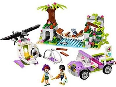 Lego Jungle Bridge Rescue